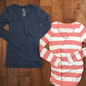 Tops - Long sleeved maternity T-shirt bundle